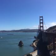 The Groundhog team at the Golden Gate Bridge in San Francisco