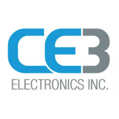 CE3 Electronics Inc. logo