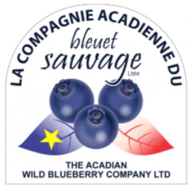 Acadian Wild Blueberry Company logo