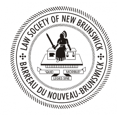 Law Society of New Brunswick / Barreau du Nouveau-Brunswick logo