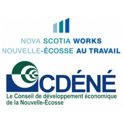 Le Conseil de développement économique de la Nouvelle-Écosse (CDÉNÉ) logo