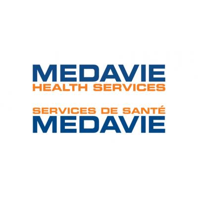 Medavie Health Services - Bilingual logo