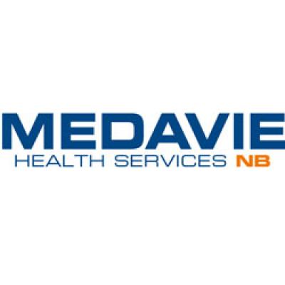 Medavie Health Services New Brunswick (MHSNB) /  Services de santé Medavie Nouveau-Brunswick (SSMNB) logo