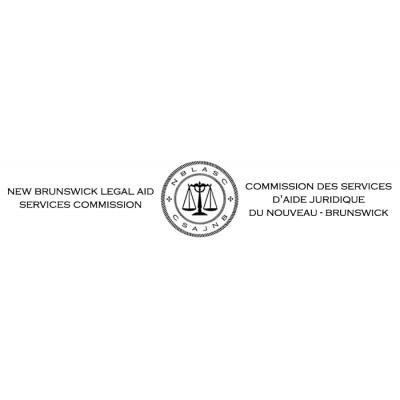 New Brunswick Legal Aid Services Commission / Commission des services d'aide juridique du Nouveau-Brunswick logo