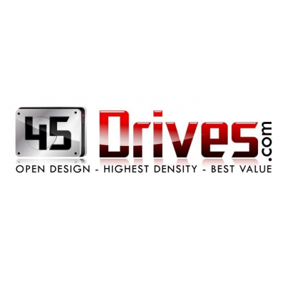 45 Drives logo