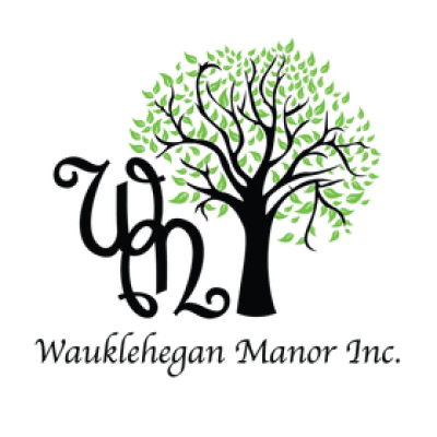 Wauklehegan Manor logo