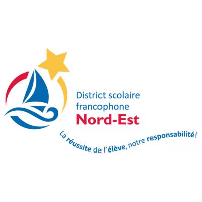District scolaire francophone Nord-Est logo