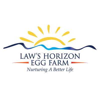 Law's Horizon Egg Farm logo